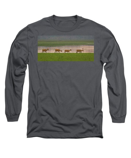 Swamp Deers Long Sleeve T-Shirt