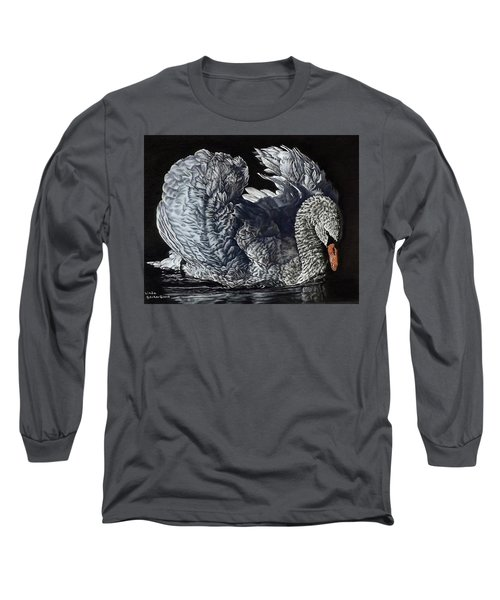 Swan #2 Long Sleeve T-Shirt