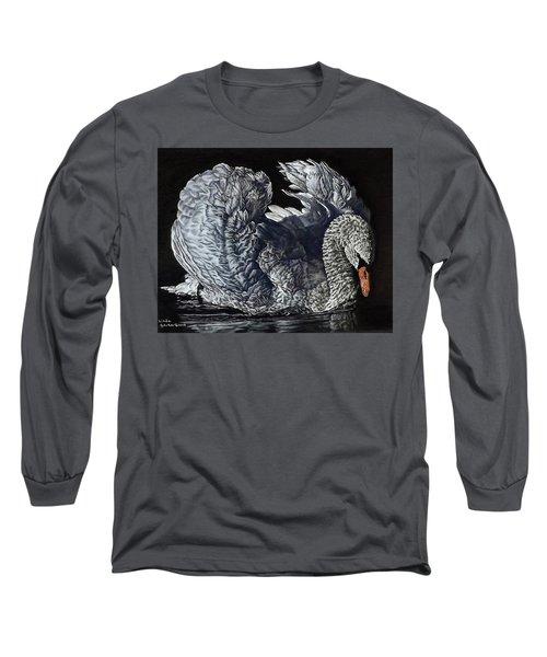 Swan #2 Long Sleeve T-Shirt