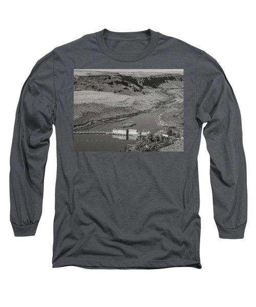 Swan Falls Dam Long Sleeve T-Shirt