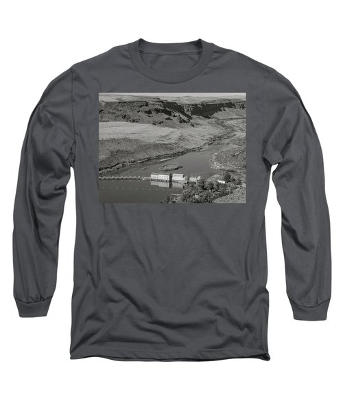 Swan Falls Dam Long Sleeve T-Shirt