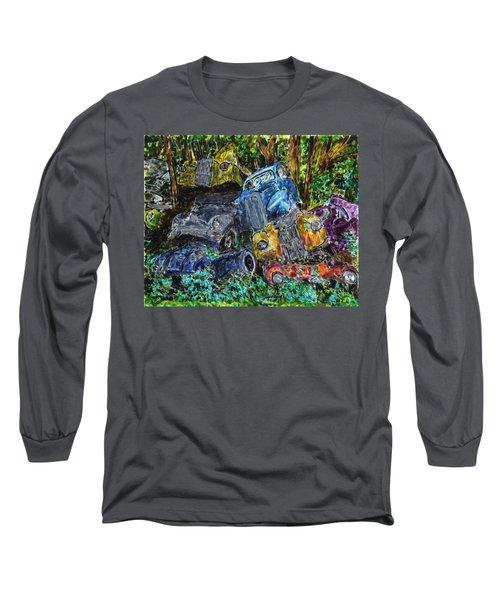 Swedish Scrapyard Long Sleeve T-Shirt