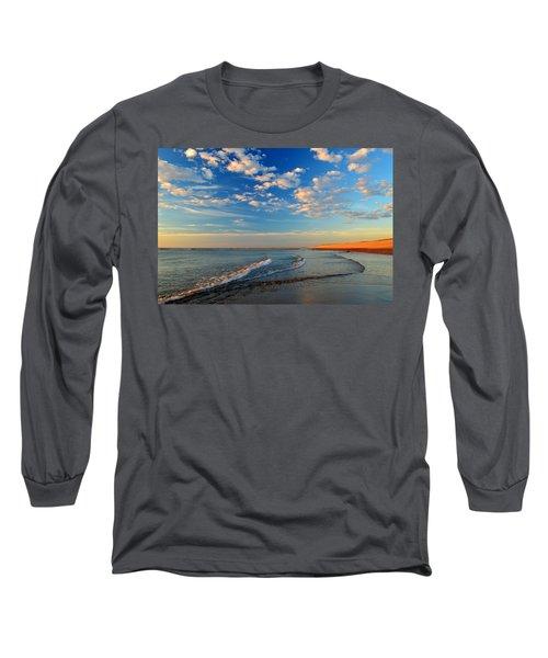 Sweeping Ocean View Long Sleeve T-Shirt by Dianne Cowen
