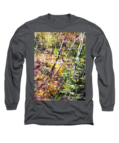 Long Sleeve T-Shirt featuring the photograph Raking Water  by Melissa Stoudt