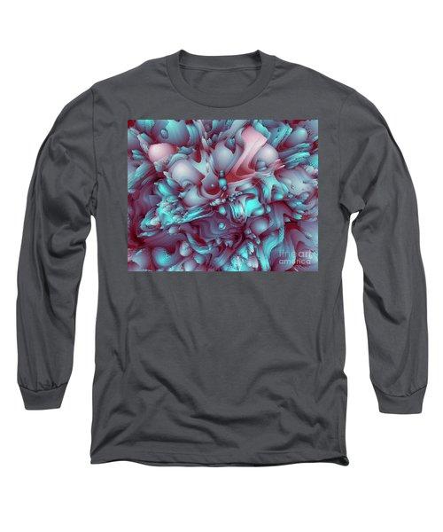 Sweet Flowers Long Sleeve T-Shirt by Moustafa Al Hatter