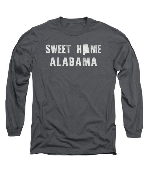 Sweet Home Alabama Long Sleeve T-Shirt by Nancy Ingersoll
