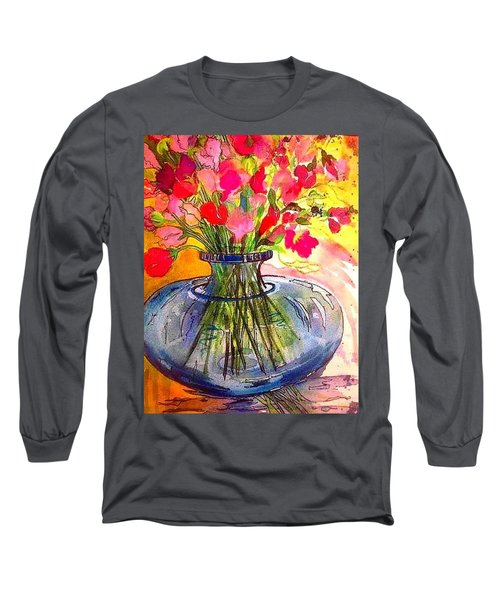 Sweet Peas Long Sleeve T-Shirt