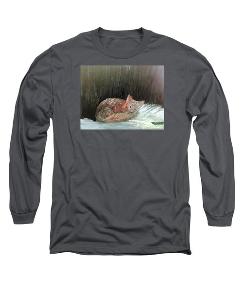 Sweet Slumber Long Sleeve T-Shirt by Trilby Cole