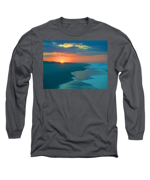 Long Sleeve T-Shirt featuring the photograph Sweet Sunrise by  Newwwman