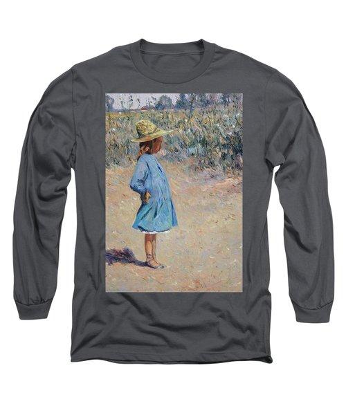 Sweetheart  Long Sleeve T-Shirt by Pierre Van Dijk