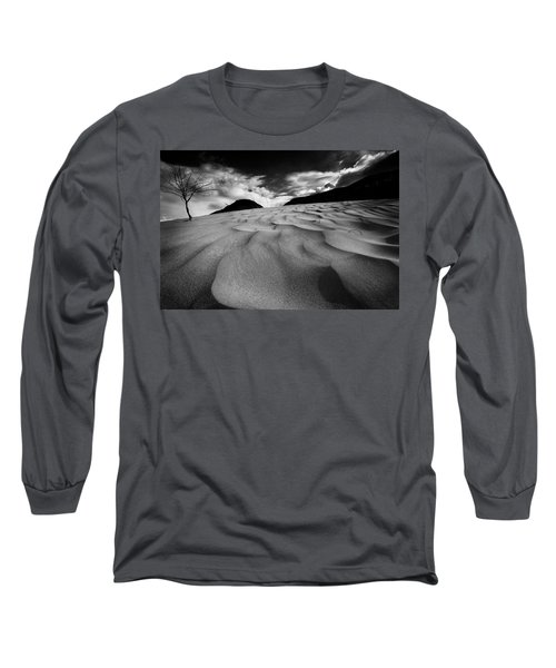 Swerves And Curves In Jasper Long Sleeve T-Shirt by Dan Jurak