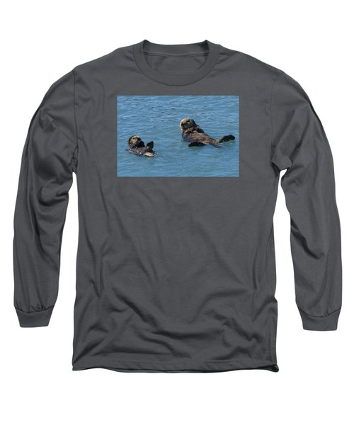 Swimming Lesson Long Sleeve T-Shirt