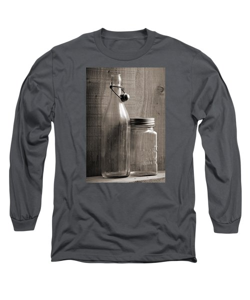 Jar And Bottle  Long Sleeve T-Shirt