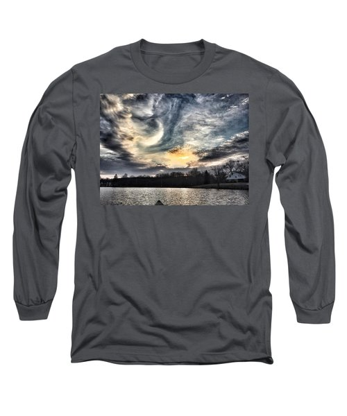 Swirl Sky Sunset Long Sleeve T-Shirt