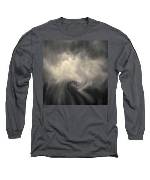 Swirl Wave Vi Toned Long Sleeve T-Shirt