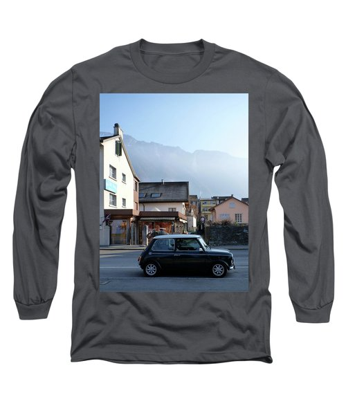 Long Sleeve T-Shirt featuring the photograph Swiss Mini by Christin Brodie
