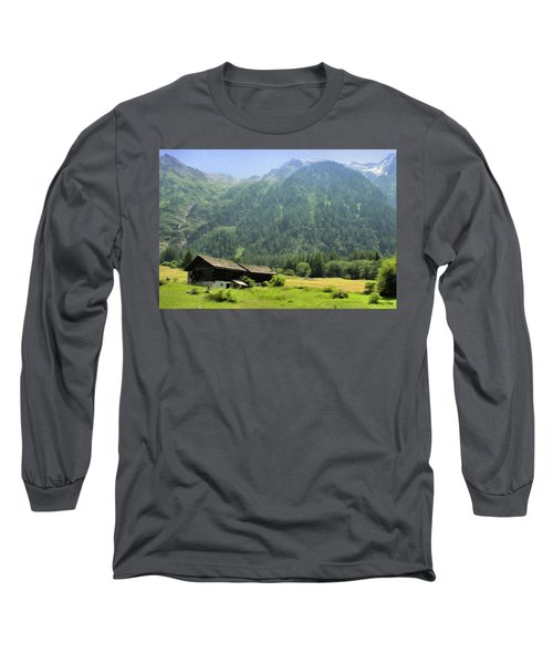 Swiss Mountain Home Long Sleeve T-Shirt