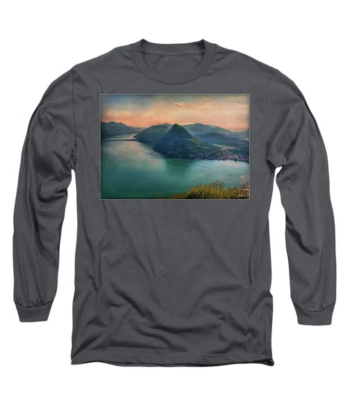 Long Sleeve T-Shirt featuring the photograph Swiss Rio by Hanny Heim