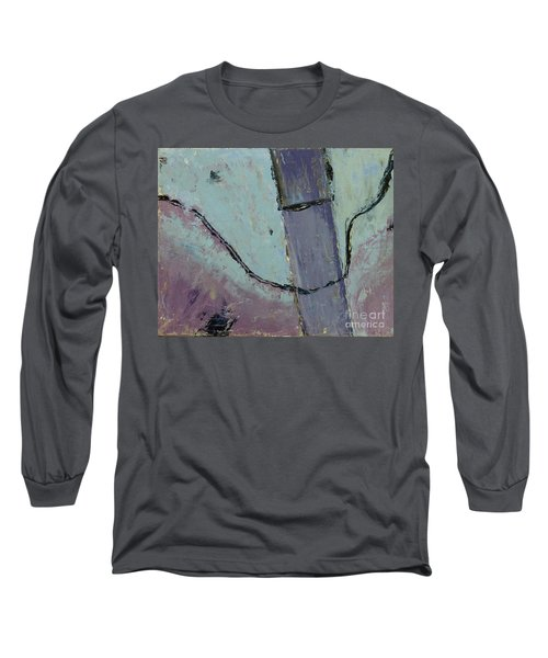 Long Sleeve T-Shirt featuring the painting Swiss Roof by Paul McKey