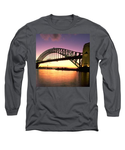 Long Sleeve T-Shirt featuring the photograph Sydney Harbour Bridge by Travel Pics