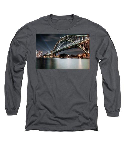 Sydney Harbour Lights Long Sleeve T-Shirt