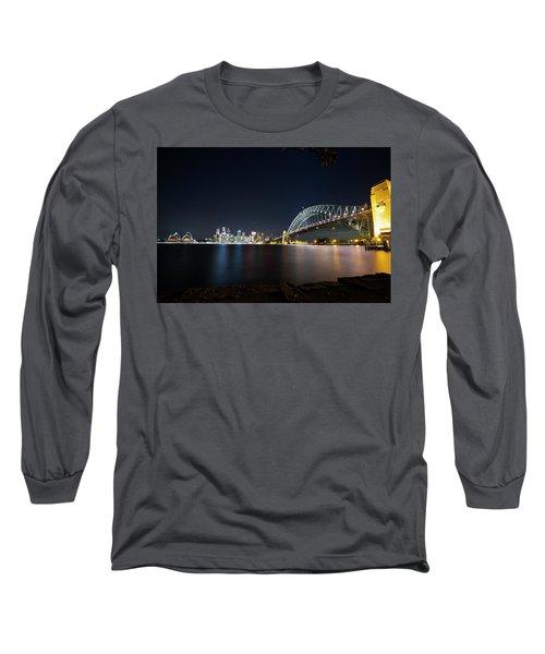 Sydney Harbour Silk Long Sleeve T-Shirt