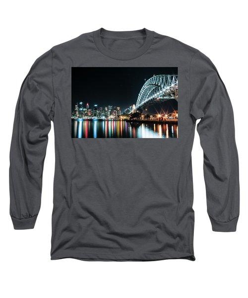 Sydney Harbour Sparkle Long Sleeve T-Shirt