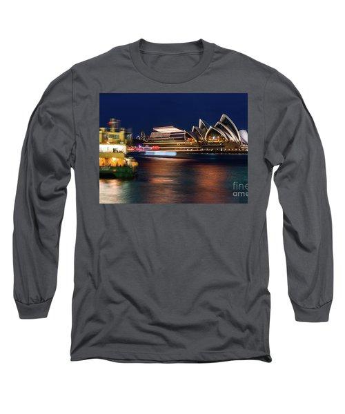 Sydney Night Life Long Sleeve T-Shirt