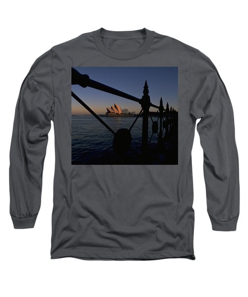 Long Sleeve T-Shirt featuring the photograph Sydney Opera House by Travel Pics