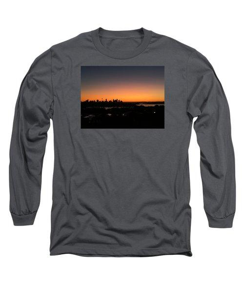 Sydney Skyline Long Sleeve T-Shirt by Scarlett Bieri