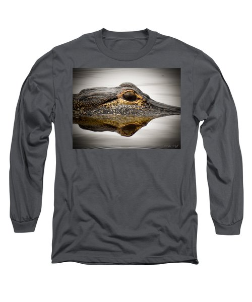 Symmetry And Reflection Long Sleeve T-Shirt