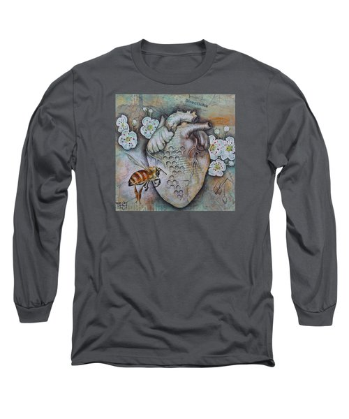 Synergy Long Sleeve T-Shirt by Sheri Howe