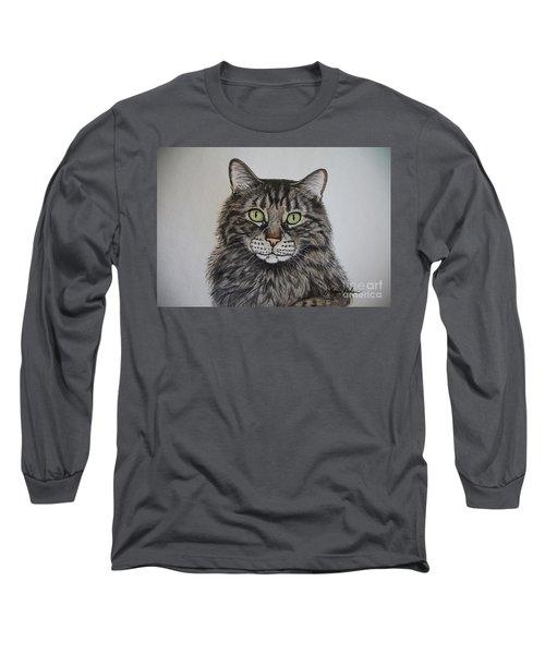 Tabby-lil' Bit Long Sleeve T-Shirt by Megan Cohen