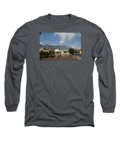 Table Mountain, Capetown Long Sleeve T-Shirt by Bev Conover