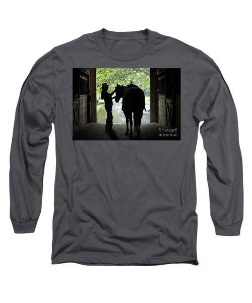 Tackin' Up Long Sleeve T-Shirt by Nicki McManus