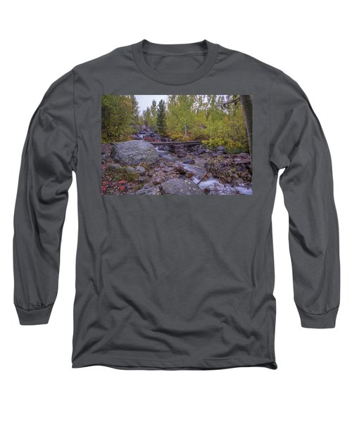 Taggert Creek Waterfall Long Sleeve T-Shirt