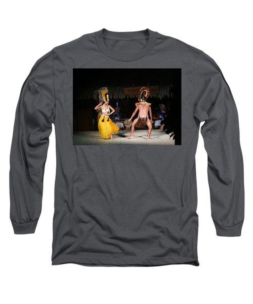 Tahitian Dancers Long Sleeve T-Shirt