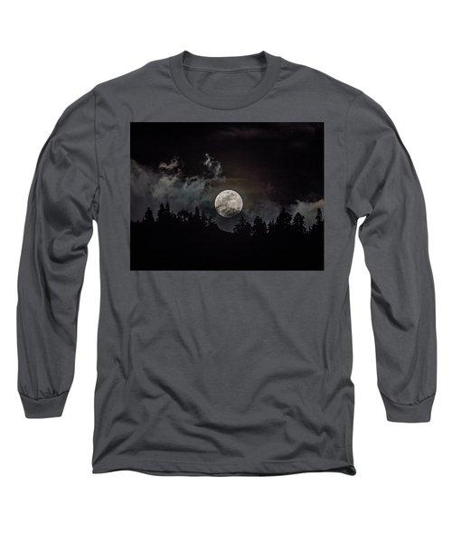Tahoe Moon Cloud Long Sleeve T-Shirt