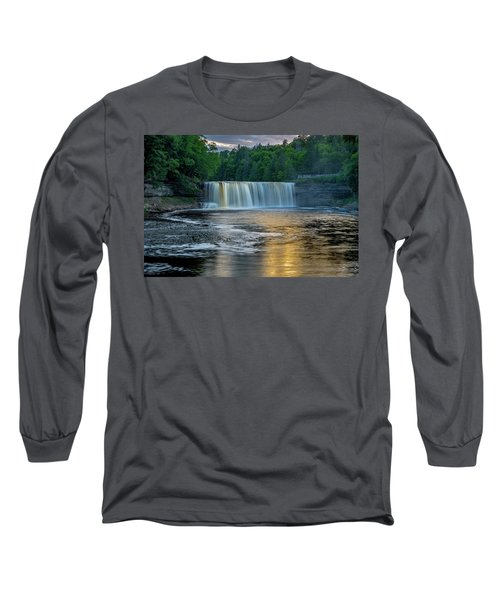 Tahquamenon Falls Long Sleeve T-Shirt