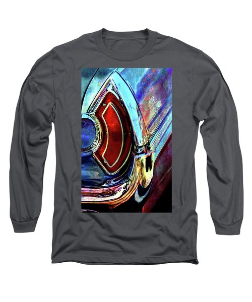 Long Sleeve T-Shirt featuring the digital art Tail Fender by Greg Sharpe