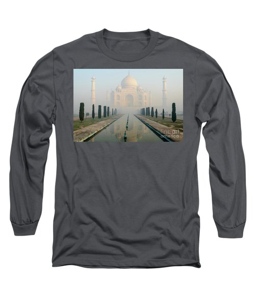Taj Mahal At Sunrise 02 Long Sleeve T-Shirt