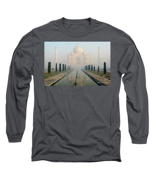 Taj Mahal At Sunrise 02 Long Sleeve T-Shirt