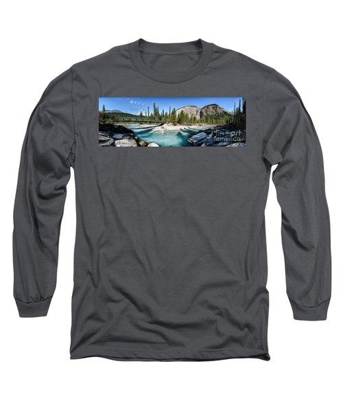 Takakkaw Falls Long Sleeve T-Shirt by Brad Allen Fine Art