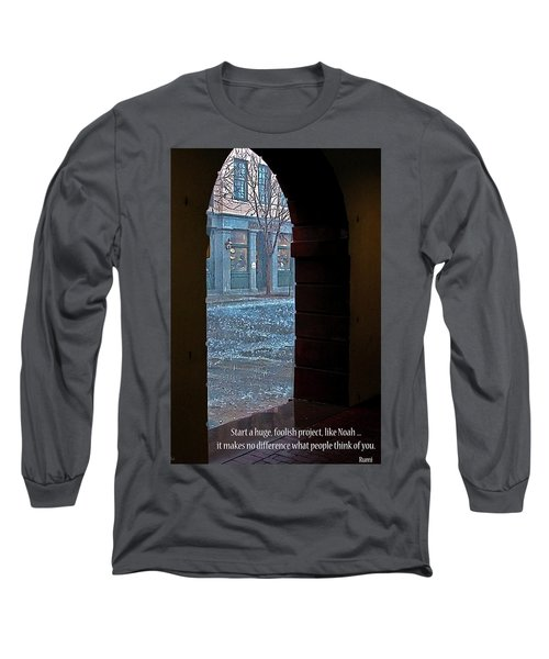 Long Sleeve T-Shirt featuring the photograph Take A Chance by Rhonda McDougall