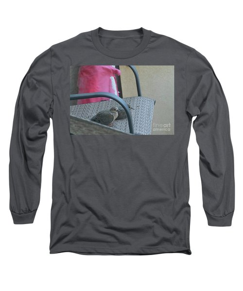 Long Sleeve T-Shirt featuring the photograph Take A Seat by Anne Rodkin