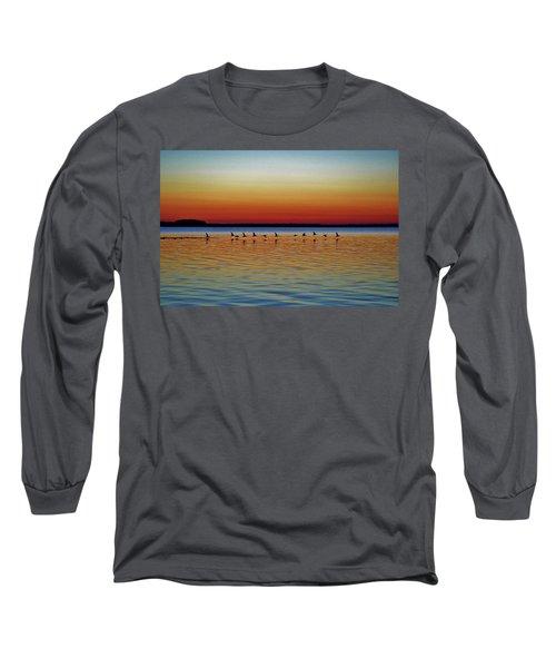 Taking Flight Long Sleeve T-Shirt by William Bartholomew