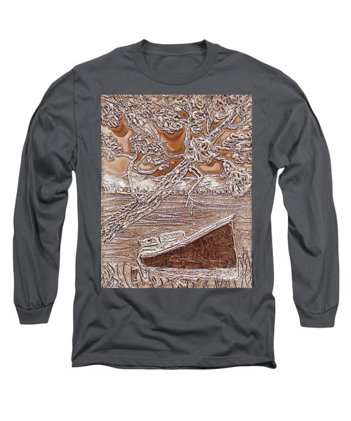 Taking In The View Along The Paddle Long Sleeve T-Shirt