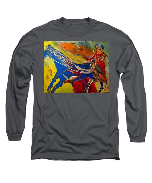 Taking The Reins Long Sleeve T-Shirt