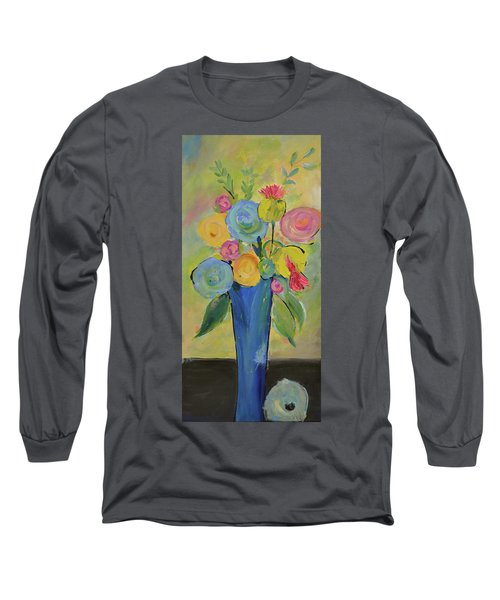 Tall Floral Order Long Sleeve T-Shirt