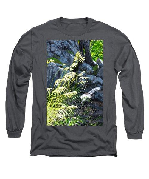 Tall Grass In A Breeze Long Sleeve T-Shirt